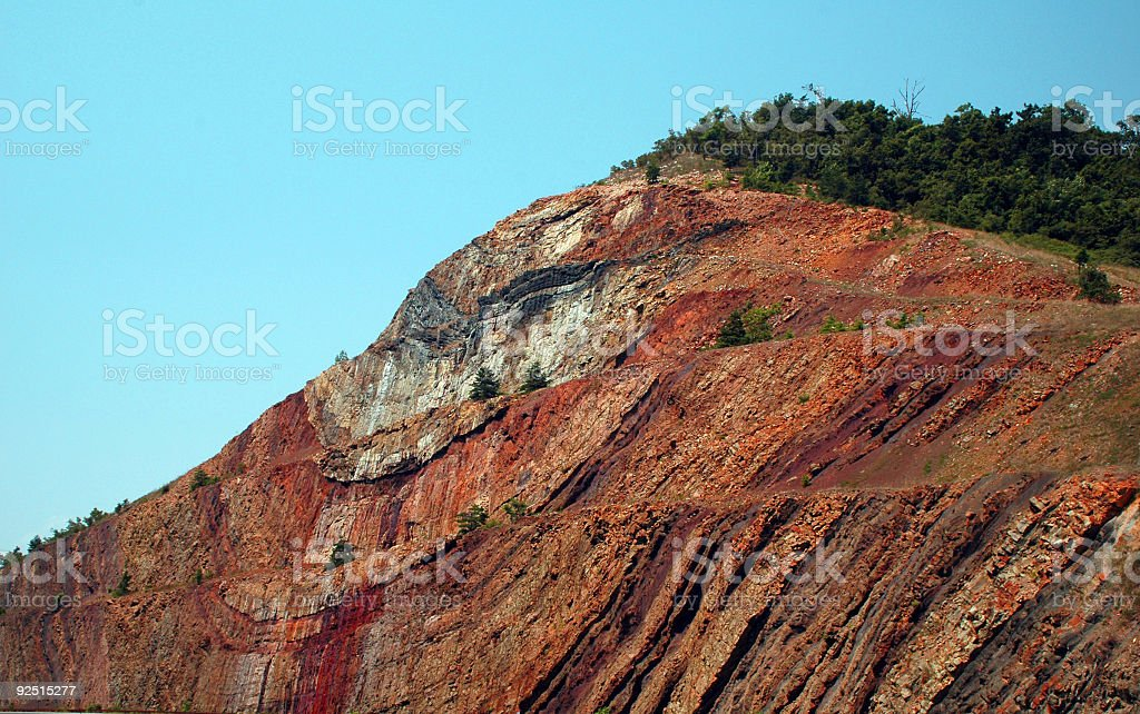 sideling hill royalty-free stock photo