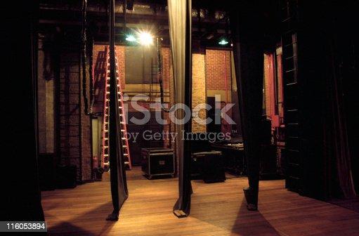 Side-scenes of a theatre