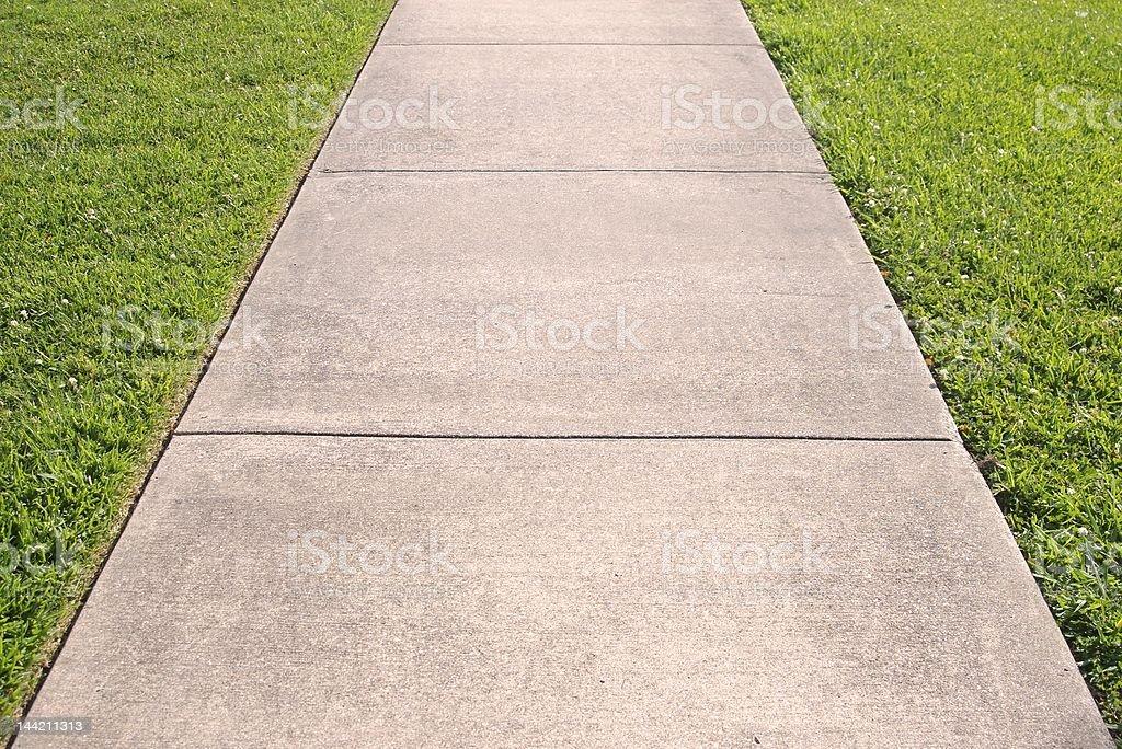 sidewalk royalty-free stock photo