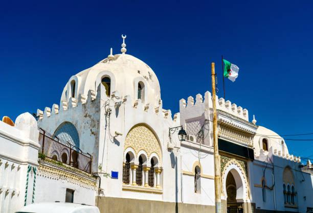 sidi abder rahman moskén på the casbah i algiers, algeriet - kasbah bildbanksfoton och bilder