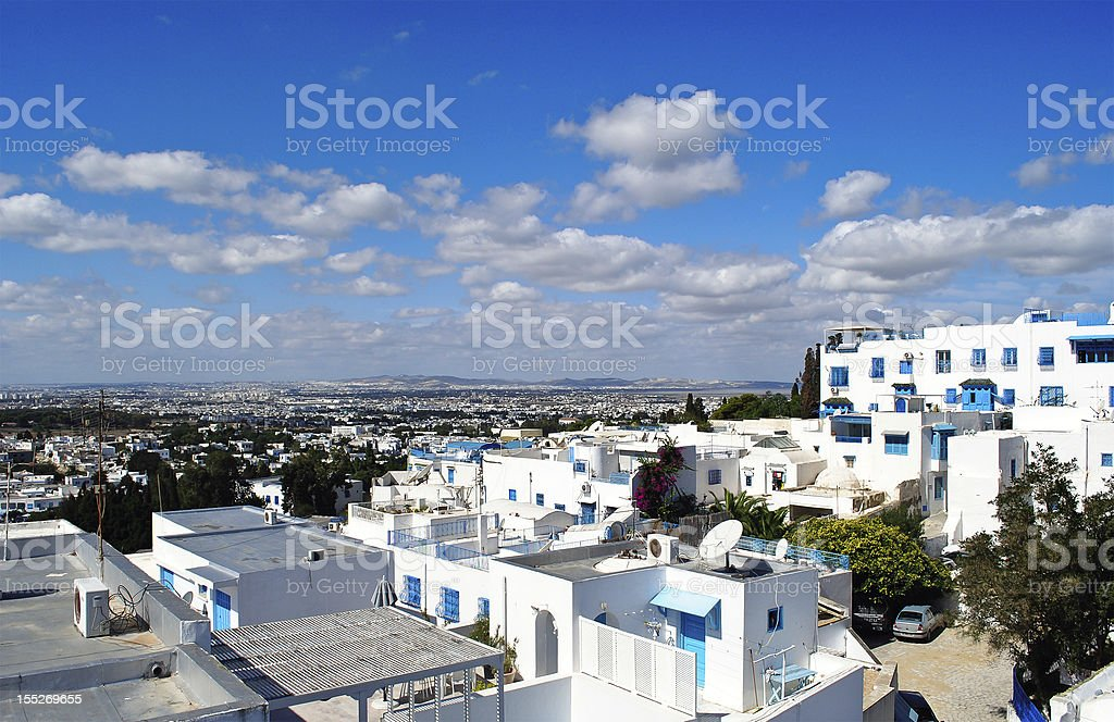 Sidi Bou Said stock photo