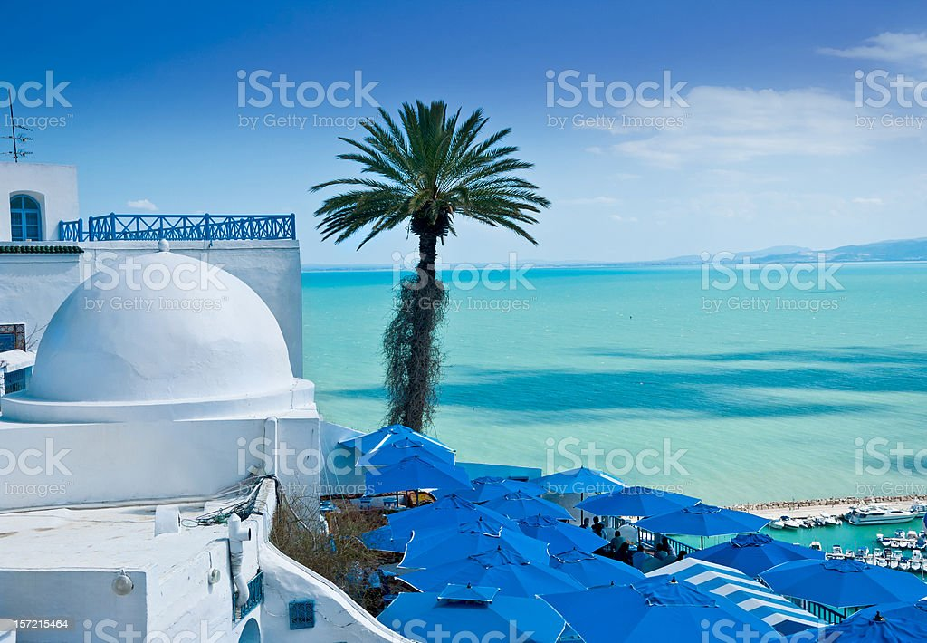 Sidi Bou Said, Tunis stock photo