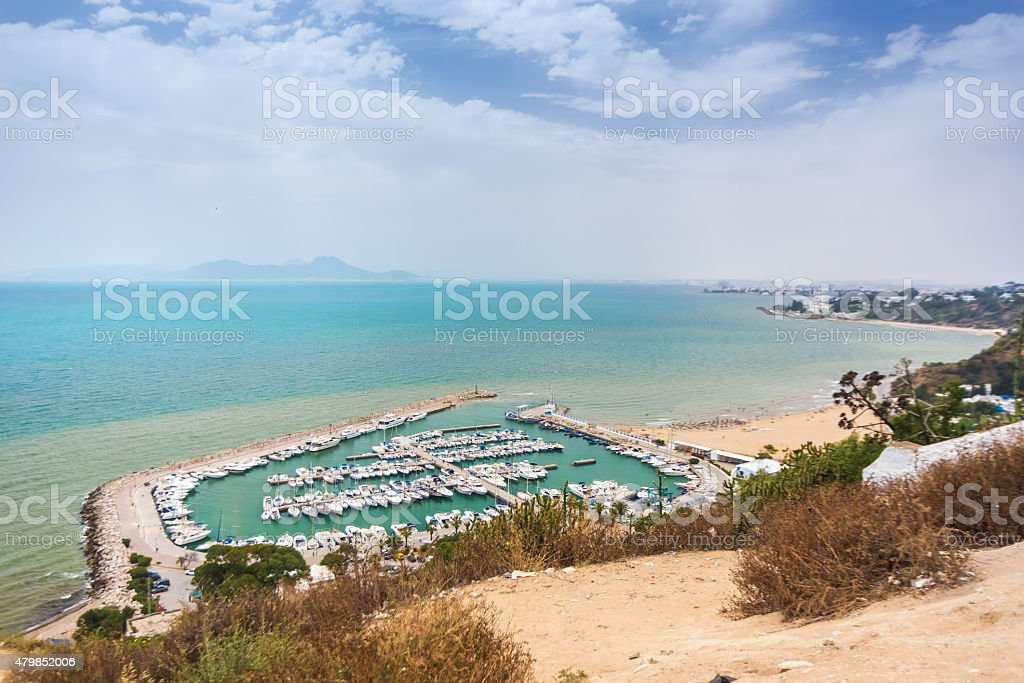 Sidi Bou Said, Tunisia stock photo