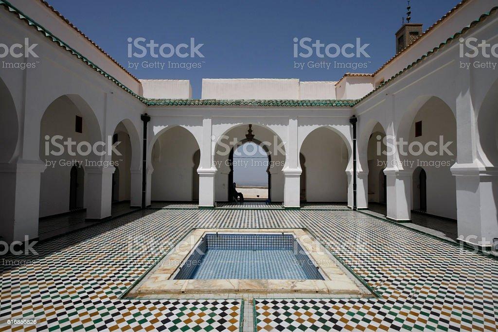 Sidi Boumediene Madrasa courtyard, Algeria - Photo
