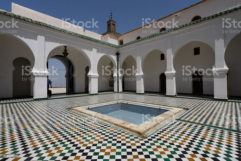 Sidi Boumediene Madrasa courtyard, Algeria - Photo