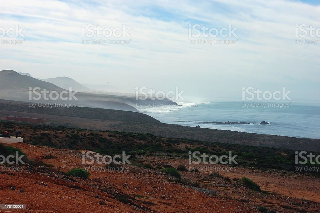 Sidi Ifni-Legzira coast, Morocco royalty-free stock photo