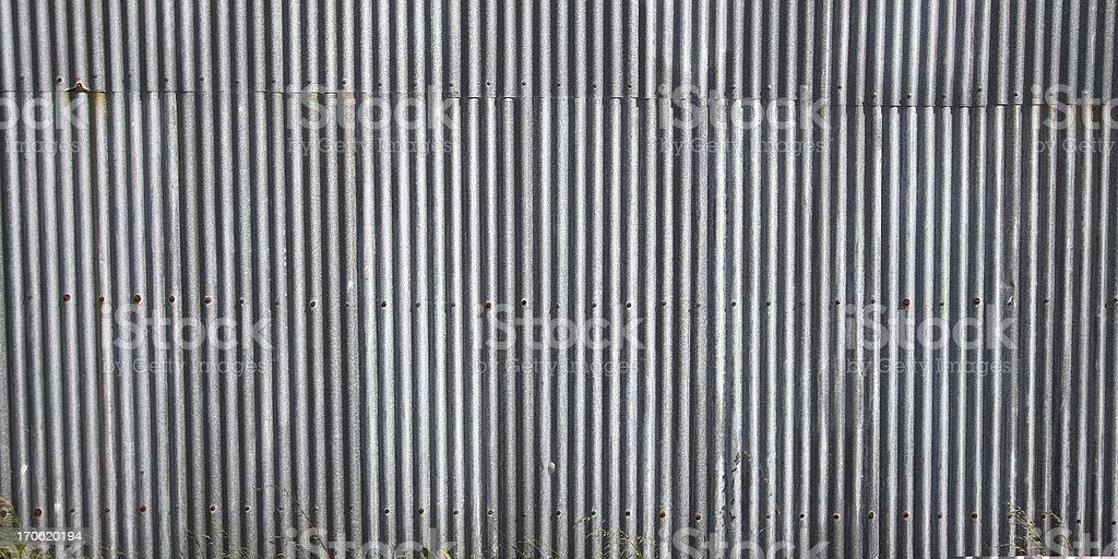 Siding Plates, Corrugated stock photo