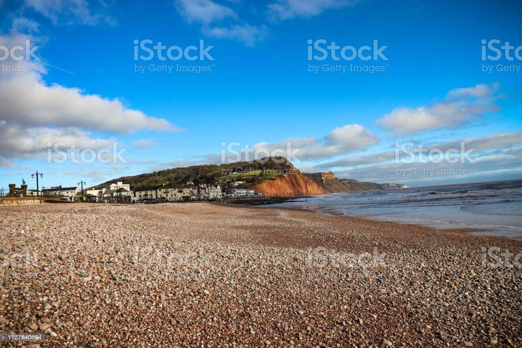 Sidmouth Beach, Devon - Royalty-free Beach Stock Photo