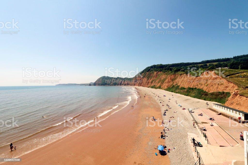 Sidmouth beach - Royalty-free Beach Stock Photo