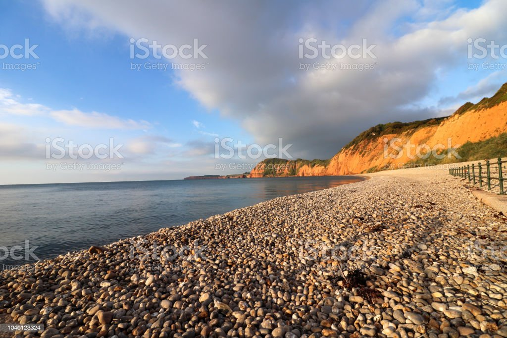 Sidmouth Beach - Royalty-free Bay of Water Stock Photo