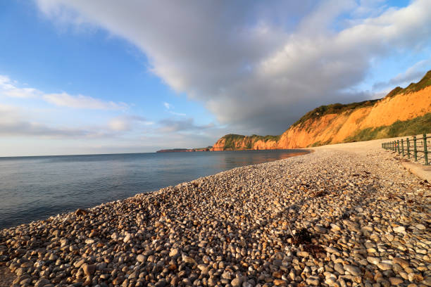 Sidmouth Beach stock photo