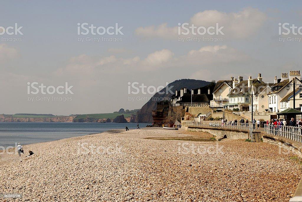Sidmouth, Devon royalty-free stock photo