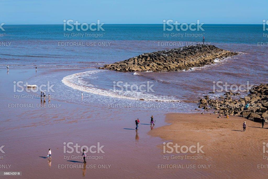 Sidmouth, East Devon, England, United Kingdom stock photo