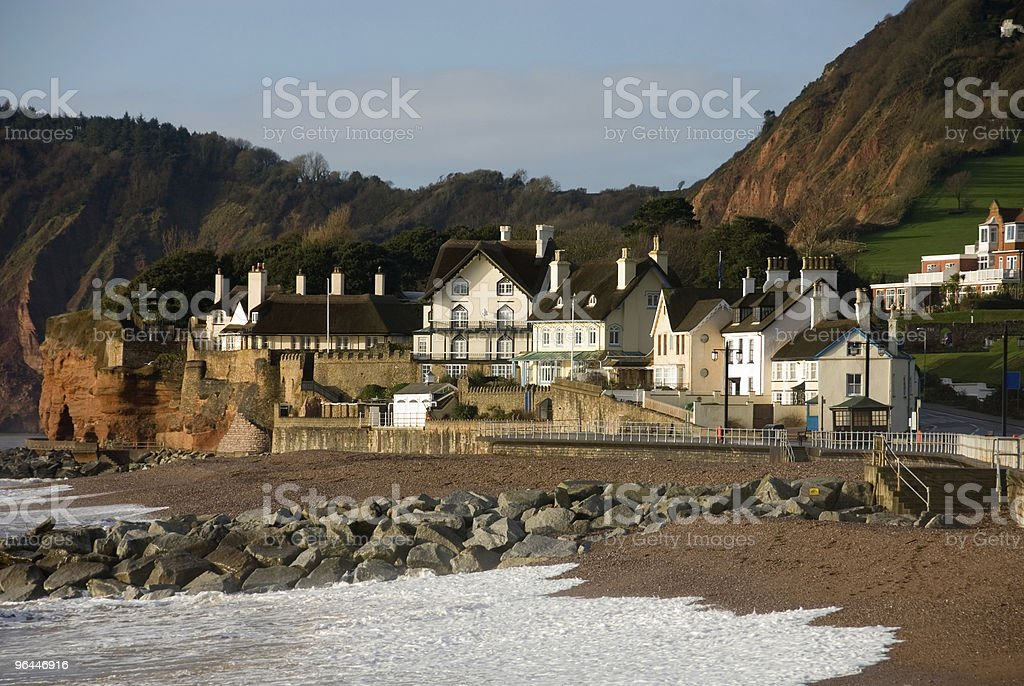 Sidmouth, England stock photo