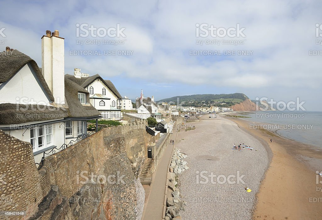 Sidmouth stock photo