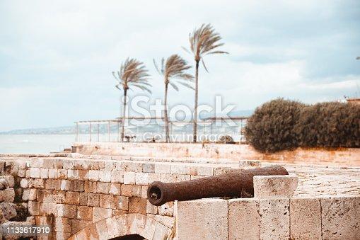 Nature, Ocean, Seascape, Lebanon, Middle East - Famous Tourist Attraction in Saida Lebanon
