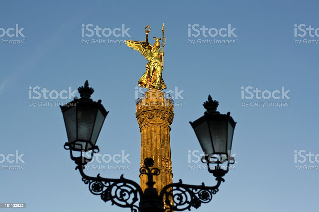 Siegessäule, Berlin royalty-free stock photo