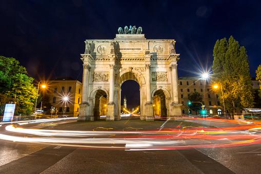 Siegestor Victory Arch Munich Germany
