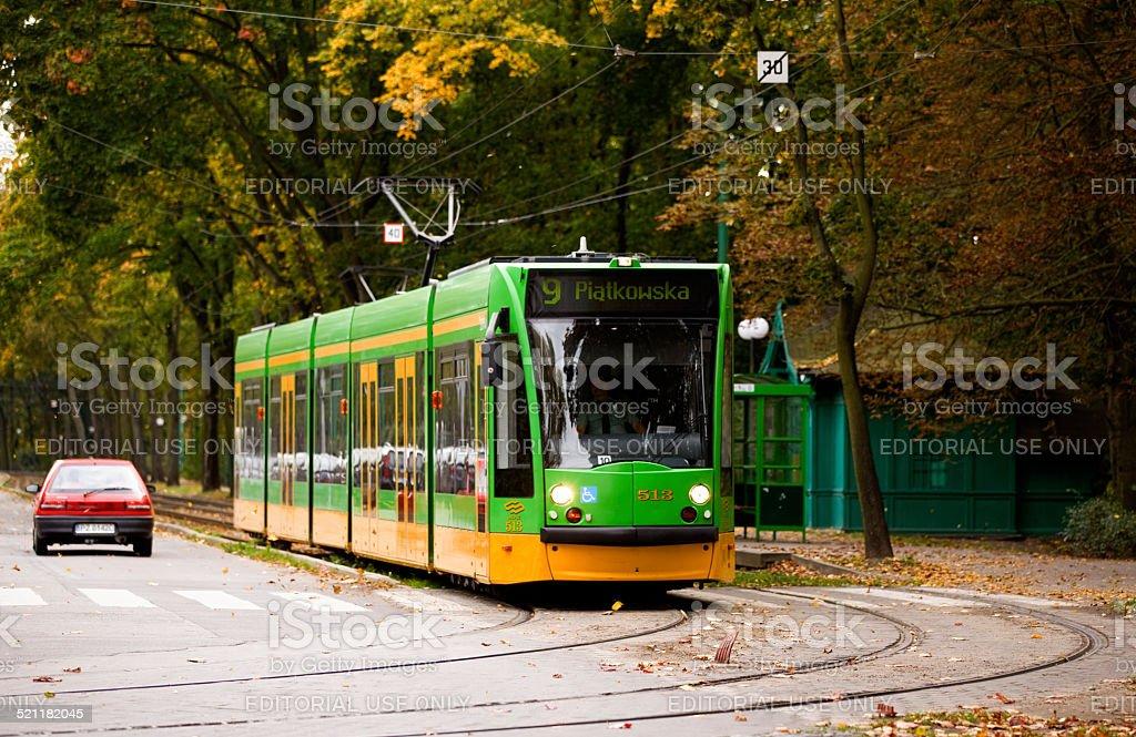 Siemens Combino stock photo