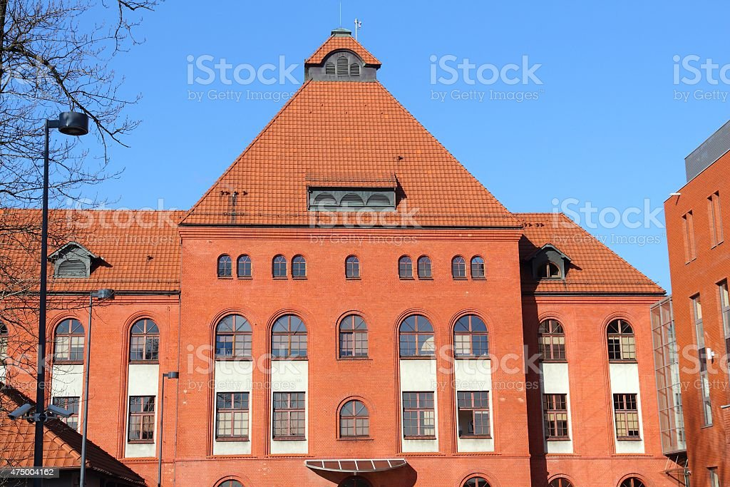Siemianowice hospital stock photo
