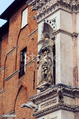 Medieval town Siena, Italy