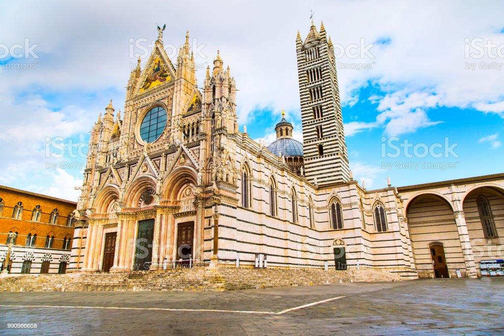 Siena Cathedral, Duomo di Siena, Italy stock photo