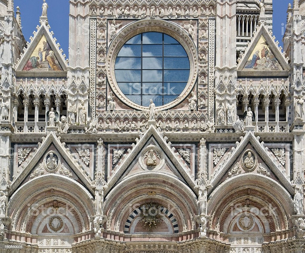 Siena Cathedral royalty-free stock photo