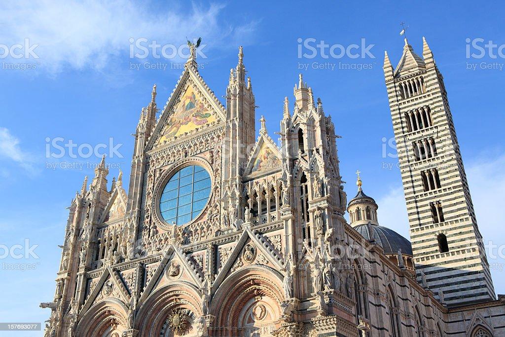 Siena Cathedral, Tuscany italy royalty-free stock photo