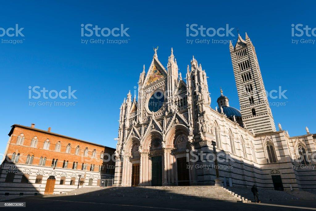 Siena Cathedral - Tuscany Italy stock photo