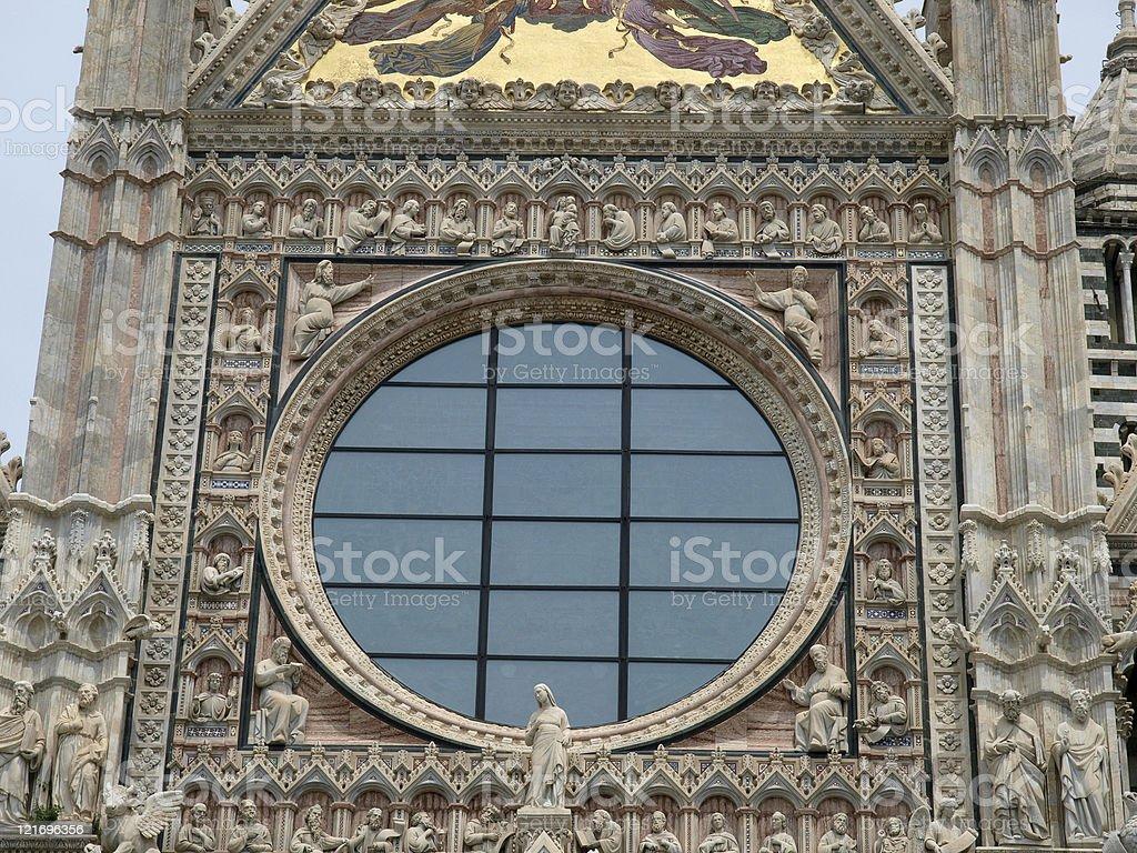 Siena - Duomo royalty-free stock photo