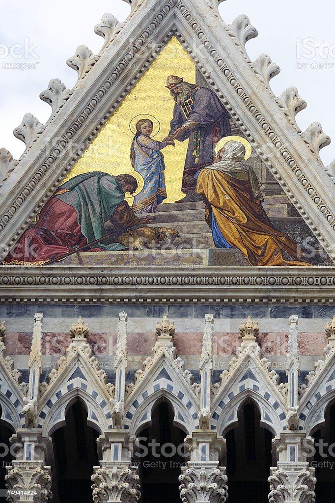 Siena (Tuscany, Italy) - Duomo stock photo