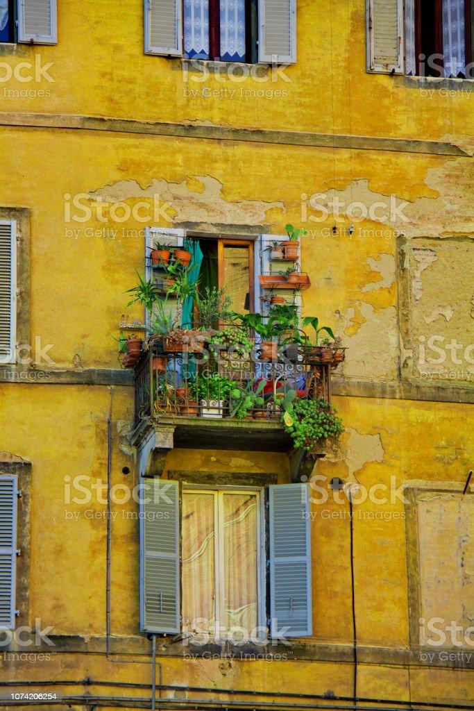 Siena in winter stock photo