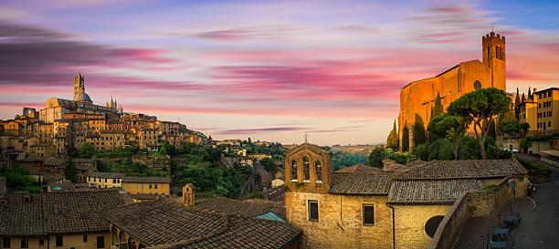 Siena, Italien  – Foto