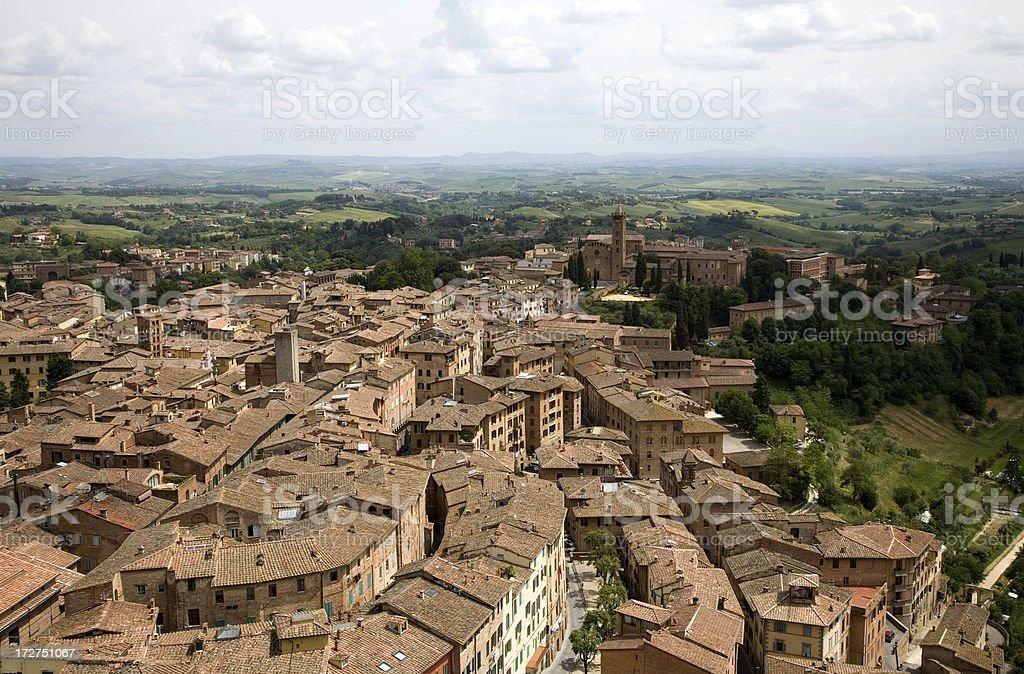 Siena royalty-free stock photo