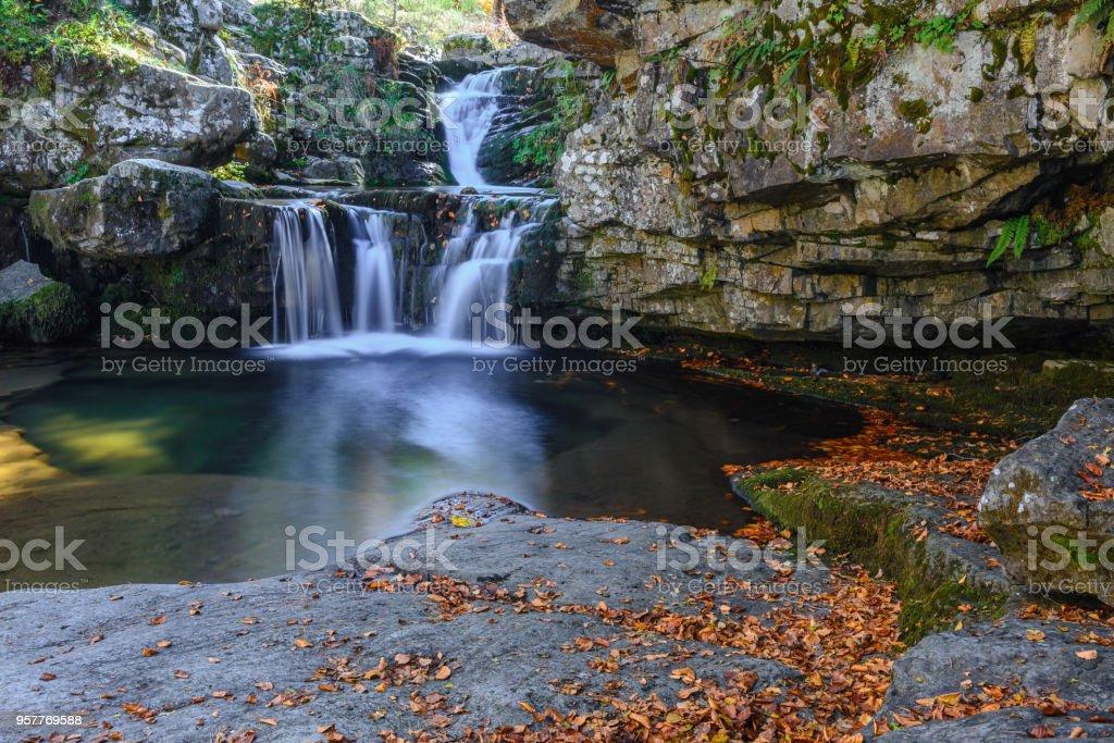 Sierra Cebollera Natural Park, La Rioja, Spain stock photo