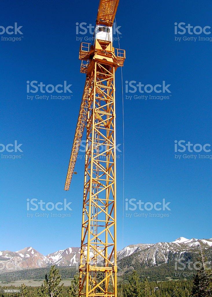 Sierra Crane 2 royalty-free stock photo
