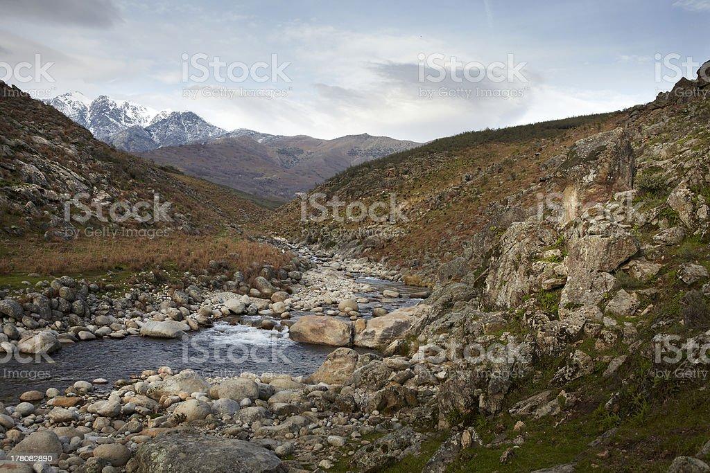 Sierra de Gredos stock photo
