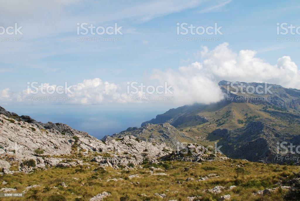 Sierra de Tramuntana, Majorca stock photo