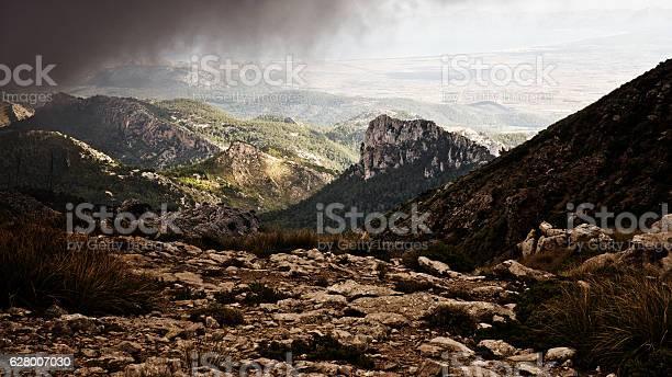 Sierra de tramuntana mountains on majorca under rain clouds picture id628007030?b=1&k=6&m=628007030&s=612x612&h=aq0hnaxeqluufpfhdchd1n0birm0alhetrttbmdaqyi=