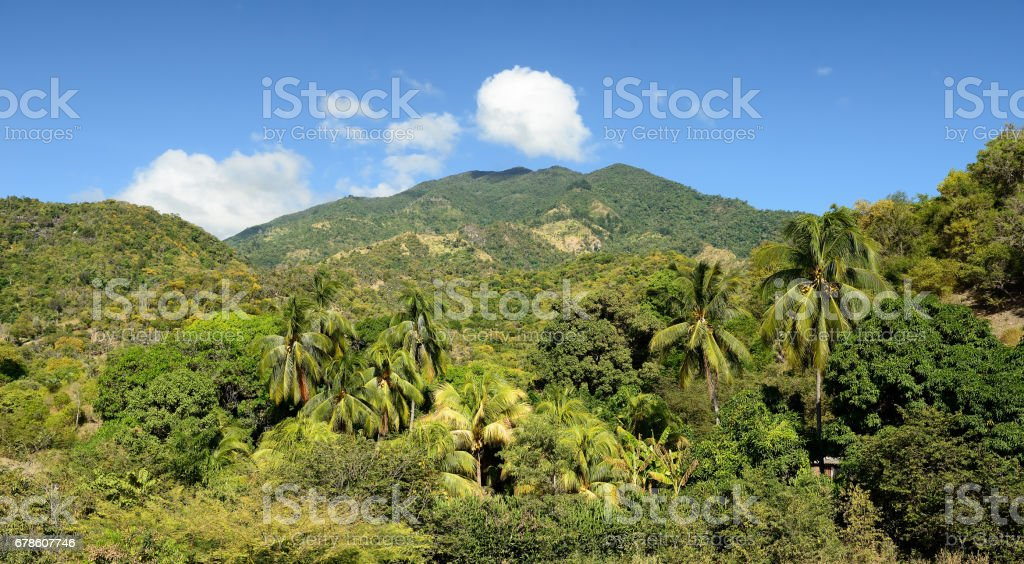 Sierra Maestra Cuba stock photo