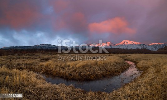 River, Owens River, Flowing Water, Water, California