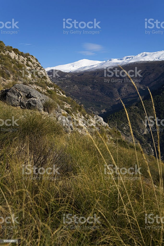 Sierra Nevada, Andlusia, Spain royalty-free stock photo