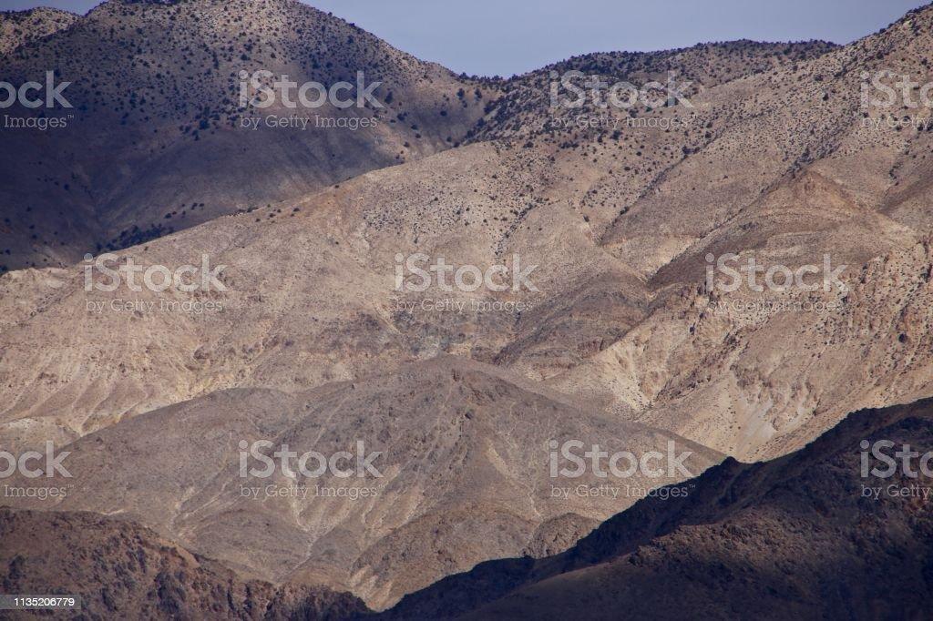 Sierra Nevada Mountain Range stock photo
