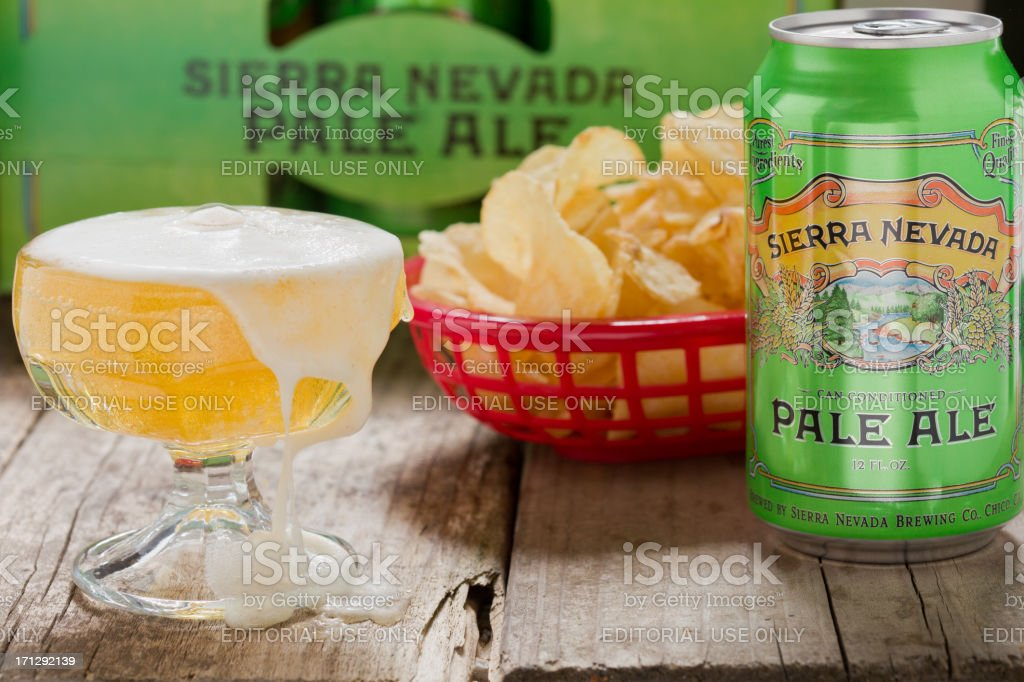 Sierra Nevada Pale Ale stock photo
