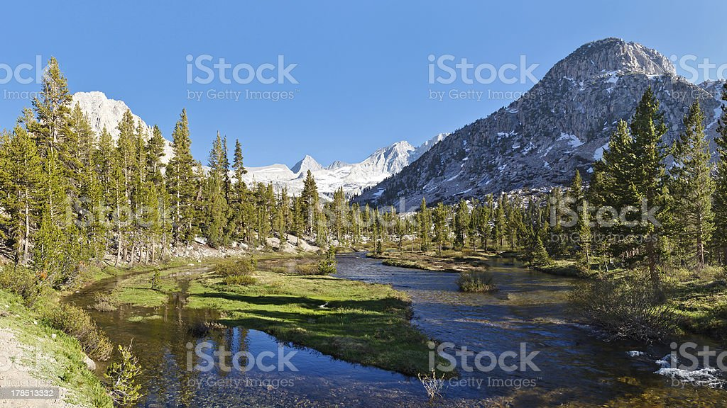 Sierra Nevada Scenery stock photo