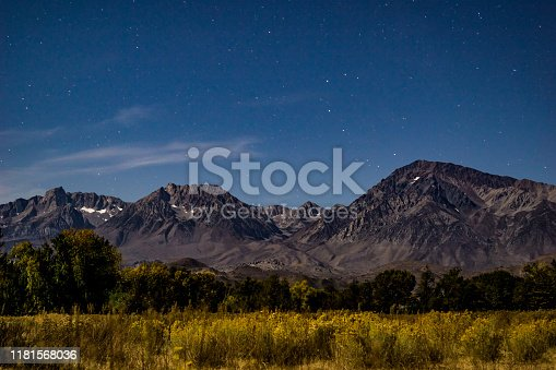 panoramic landscape images of the Sierra Nevada mountain range