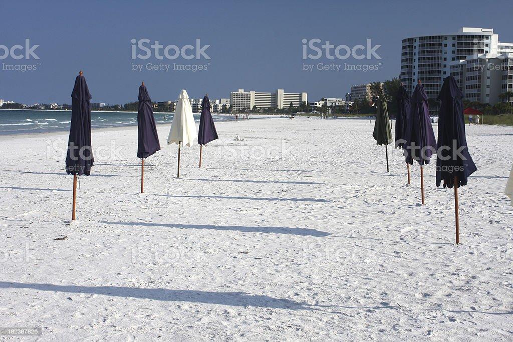 Siesta Key na Costa do Golfo da Flórida - foto de acervo