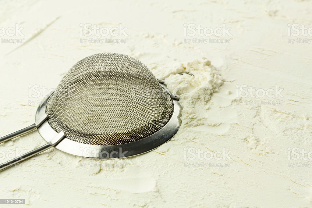 Sifter stock photo