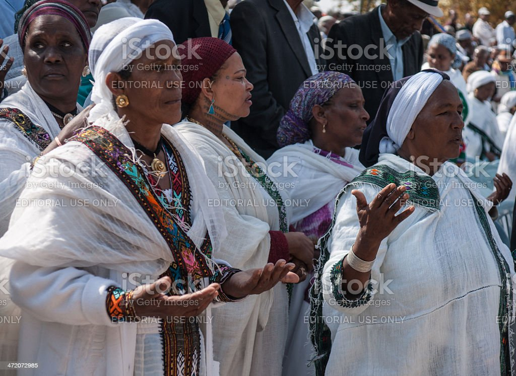 Sigd An Ethiopian Jews Holiday Stock Photo & More Pictures of