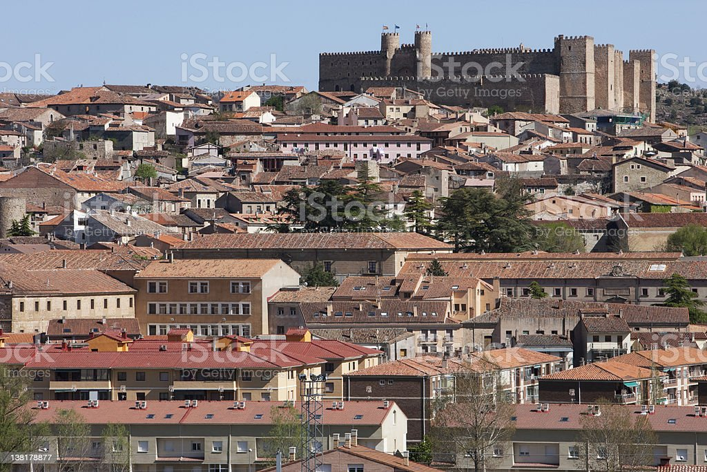 Sigüenza old city royalty-free stock photo